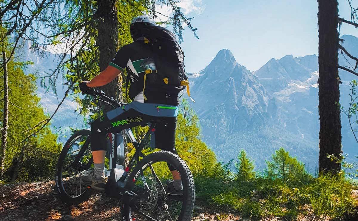 Biking-Malga-Crel-Family-tour-ebike-Dolomiti-slider