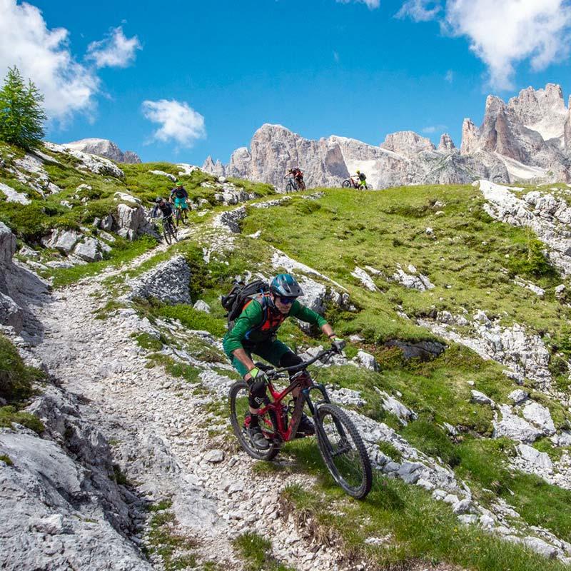Biking-Valle-Primiero-Alpe-Tognola-Dolomiti