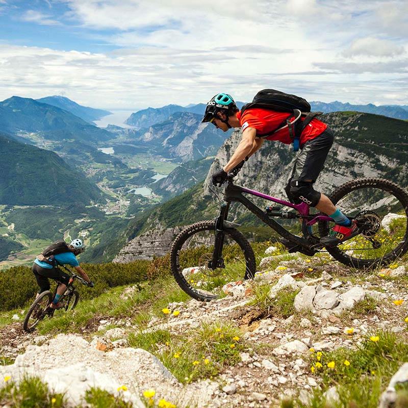 Biking-tour-val-canali-Alpe-Tognola-Dolomiti