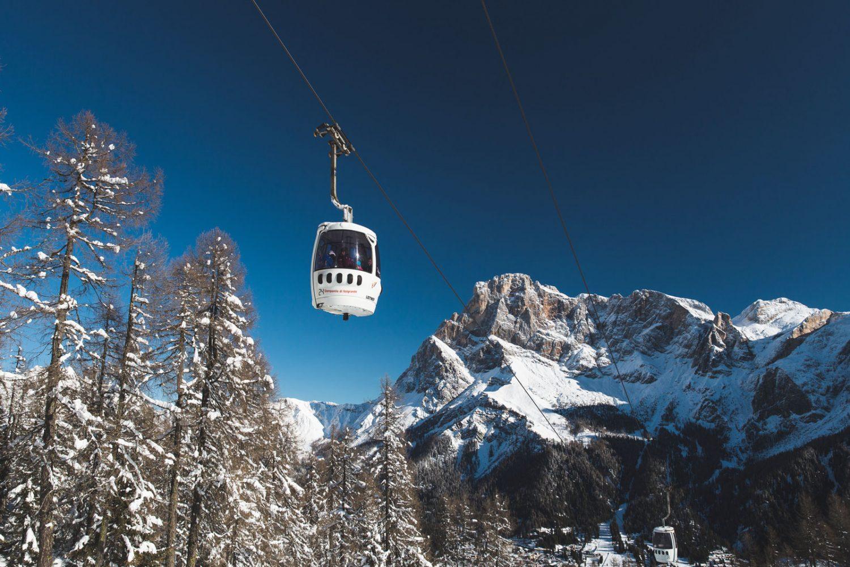 Cabinovia Tognola San Martino Castrozza Dolomiti