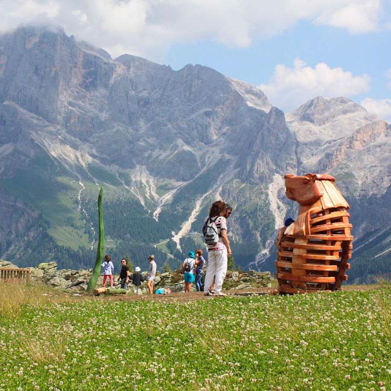 Trekking-Sentiero-Marmotte-Alpe-Tognola-Dolomiti