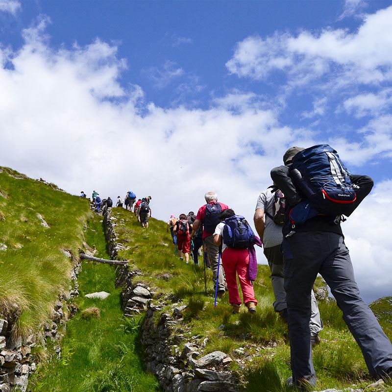 Trekking-percorso-grande-guerra-Alpe-Tognola-Dolomiti-2