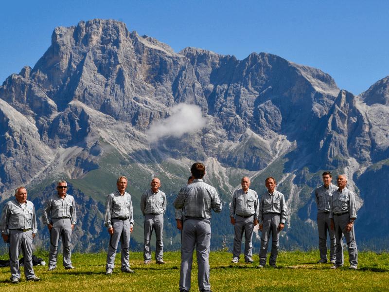 Un concerto magico tra le Dolomiti